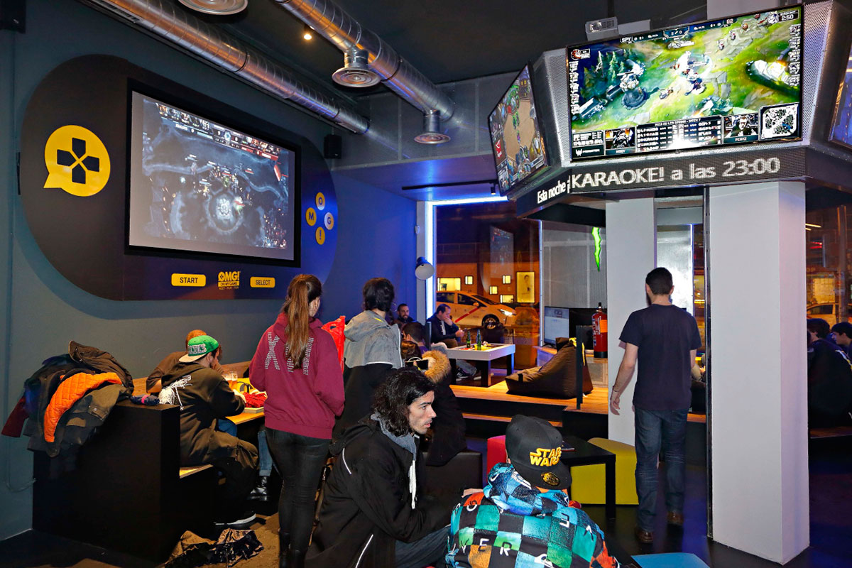 Oh my game, eSport bar en Madrid.