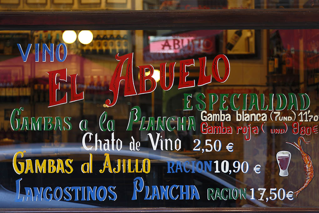 Fachada de El Abuelo.