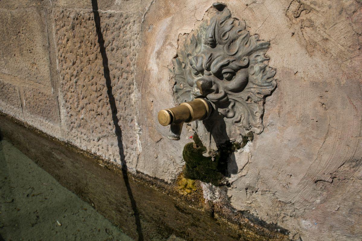 Fuente en Catí, Alto Maestrazgo, Castellón. Foto: Eva Máñez
