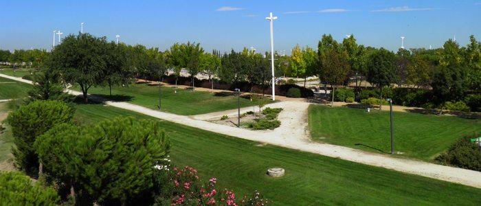 Parque Juan Carlos I, Madrid.