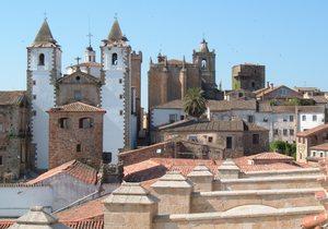 Panorámica. / Imagen cedida por: Ayuntamiento de Cáceres.