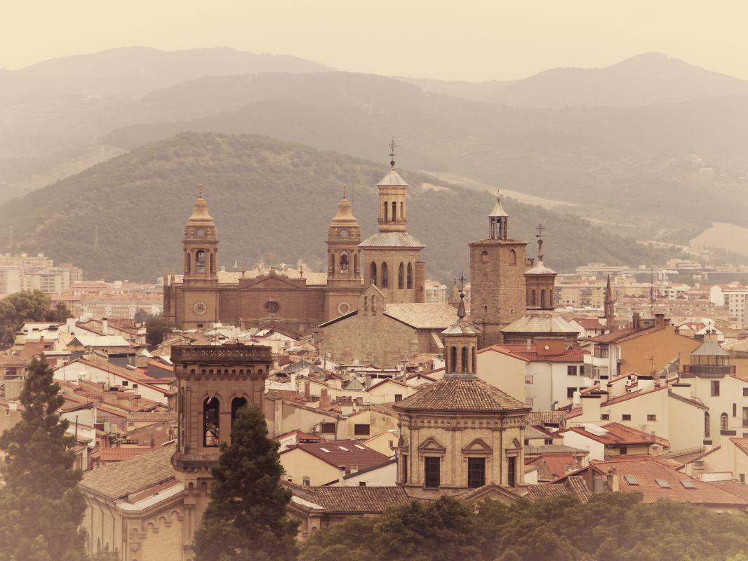 Pamplona, un centro de peregrinación de los incondicionales del novelista. Foto: Shutterstock.
