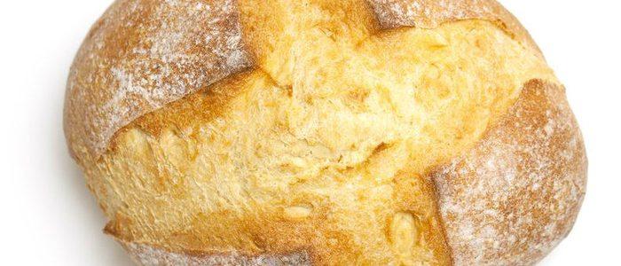 Pan candeal, la clásica hogaza.