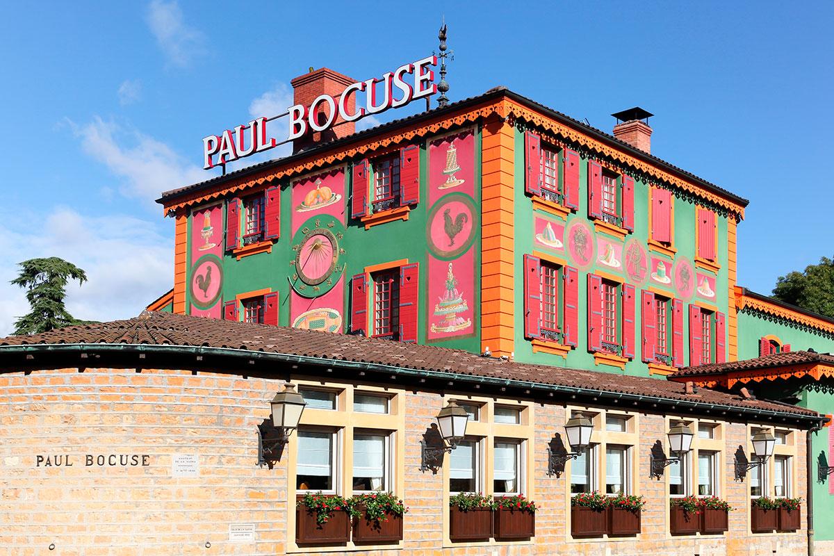 Fachada de su restaurante en Lyon. Foto: Shutterstock.
