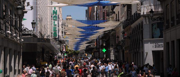 Calle Preciados, Madrid. Foto: Rafa Albarrán. Cedida por: Ayuntamiento de Madrid.