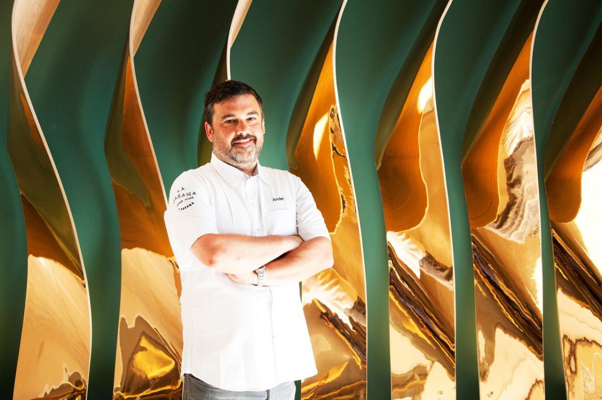 El chef Ander González, de 'La Jarana'. Foto: La Jarana.