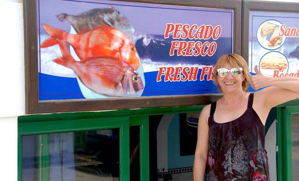 La premiada actriz Blanca Portillo disfrutando de lugares auténticos en las vacaciones. Foto: cedida.