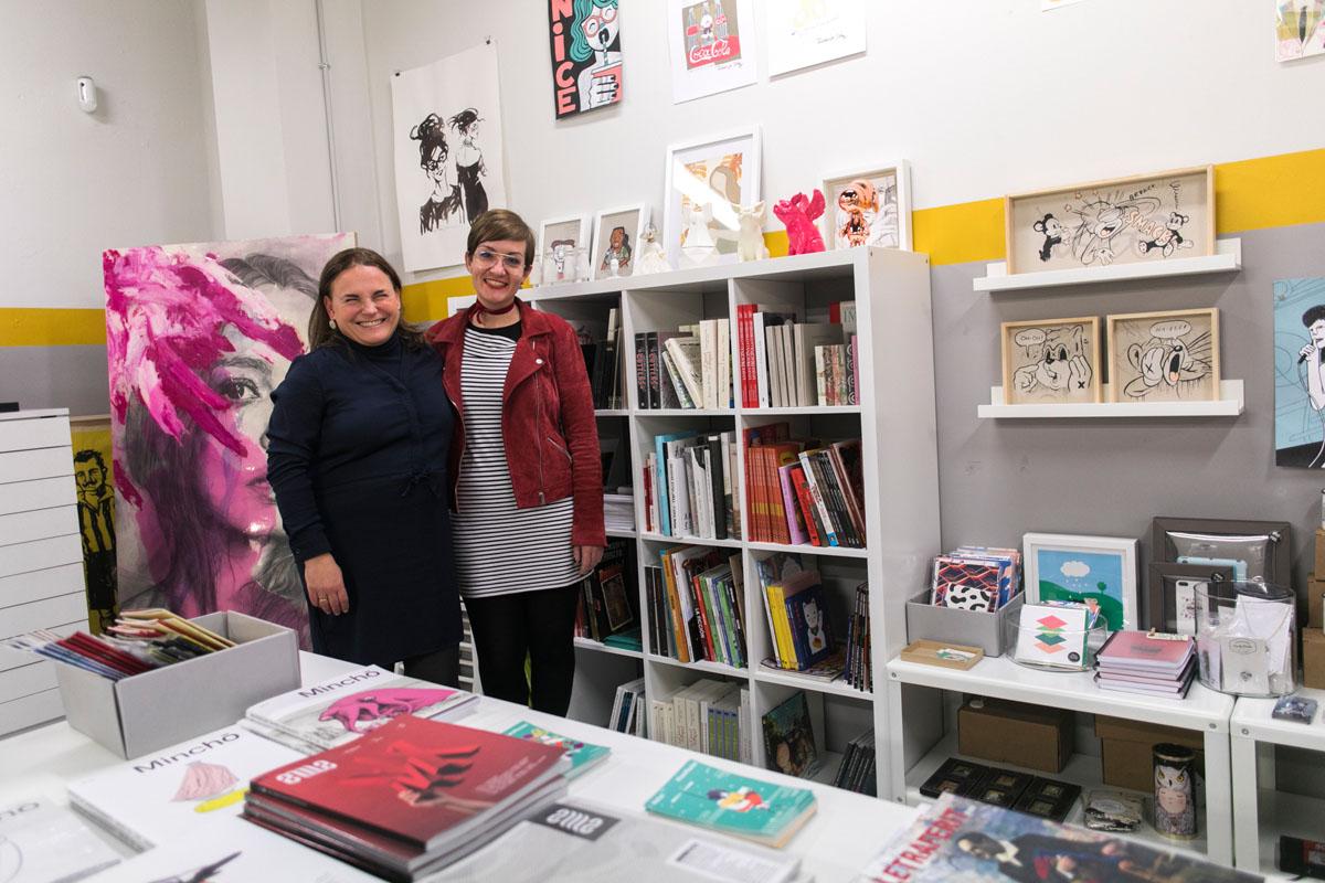 Cristina y Lucía, las cabezas al mando de Pepita Lumier