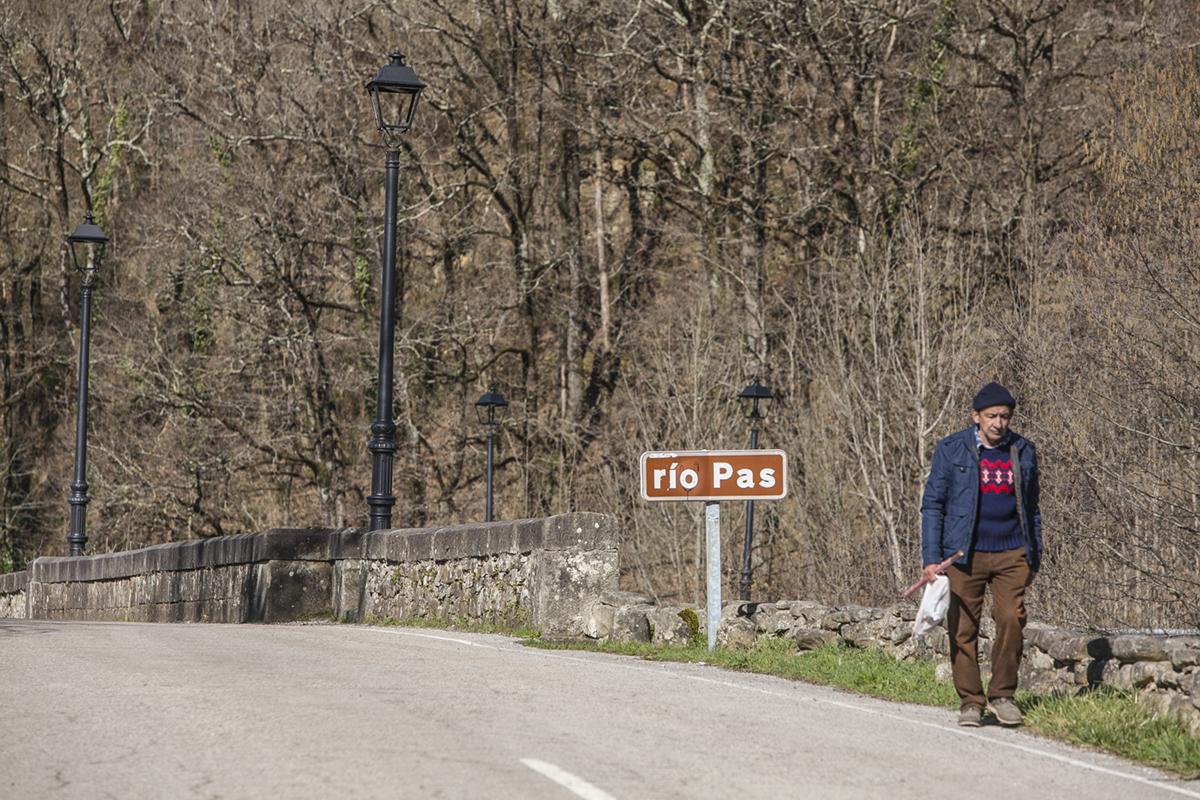 Vega de Pas, Cantabria. El río alrededor del que se han creado tantas historias.
