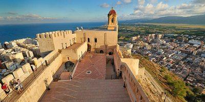 Vista desde el Castillo de Cullera. Foto: © www.valenciaterraimar.org.