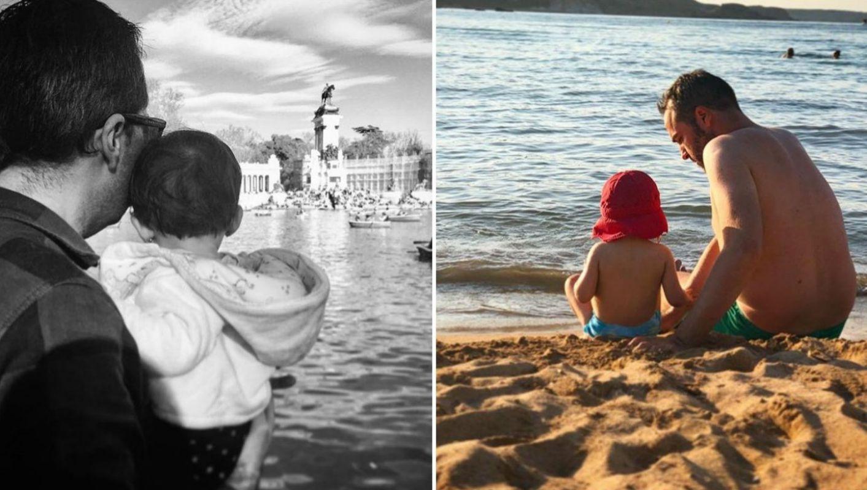 Su hija se ha convertido en su fiel compañera de paseos y rutas viajeras. Fotos: Instagram.