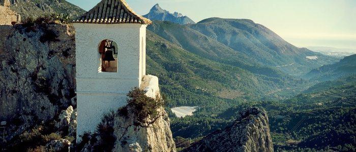 Castell de Guadalest.
