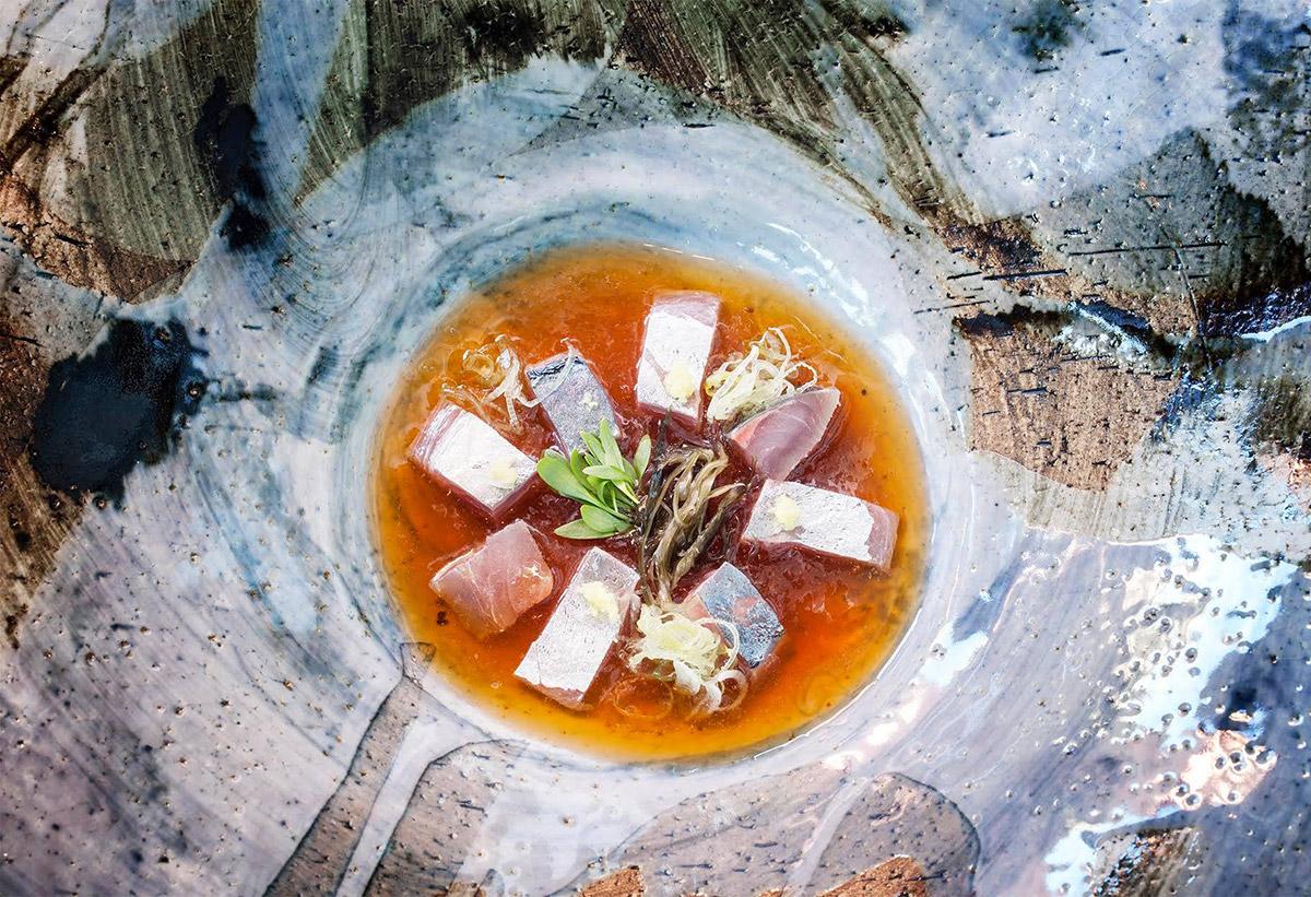 Uno de los platos de 'Kabuki'. Foto: Facebook