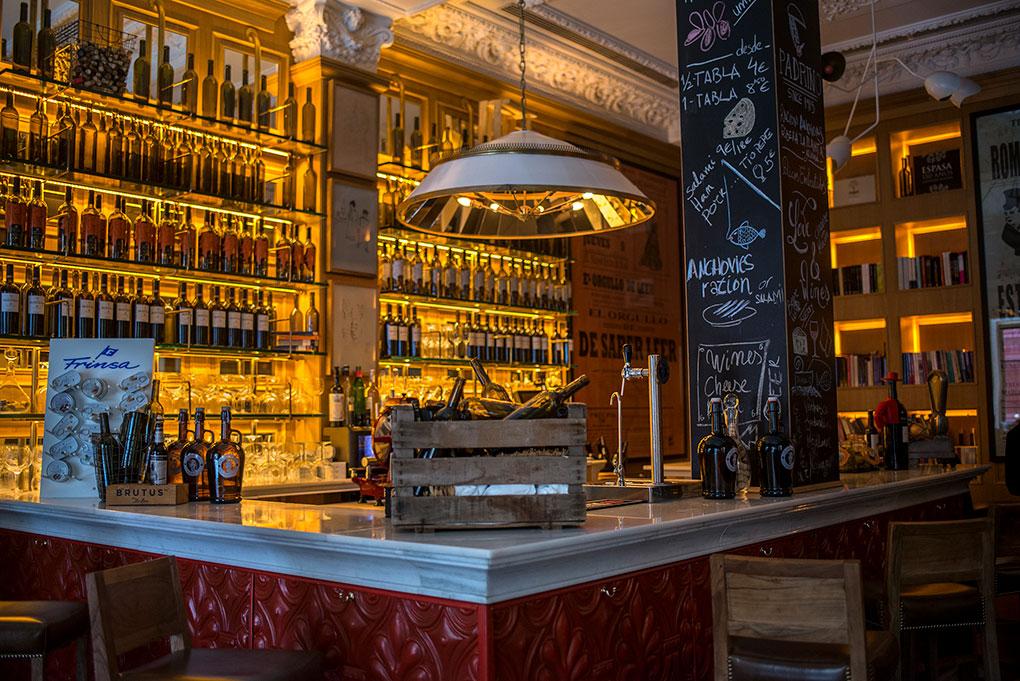 La antigua libreria reconvertida en sofisticado bar de tapas