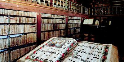 Biblioteca del Monasterio de Yuso. Foto: Turismo de La Rioja.