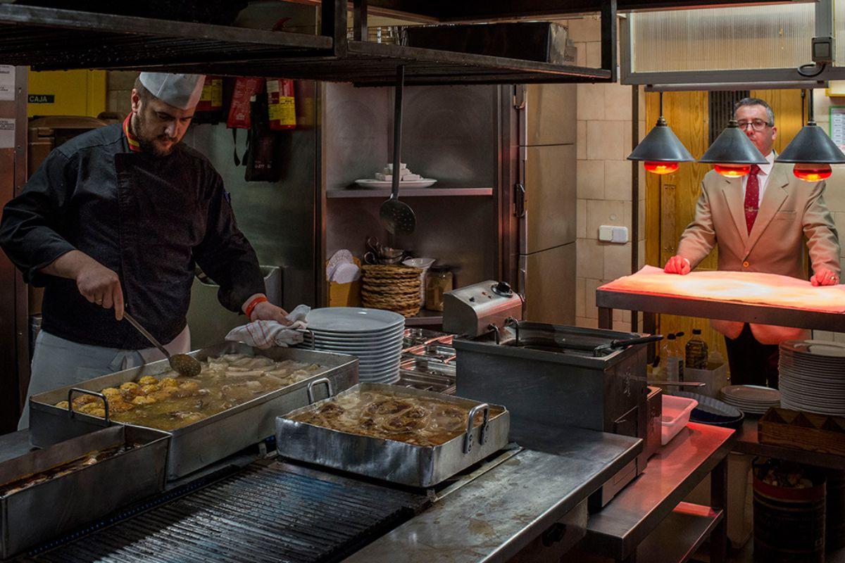 El Charolés, Restaurante, Madrid. Foto: Alfredo Cáliz