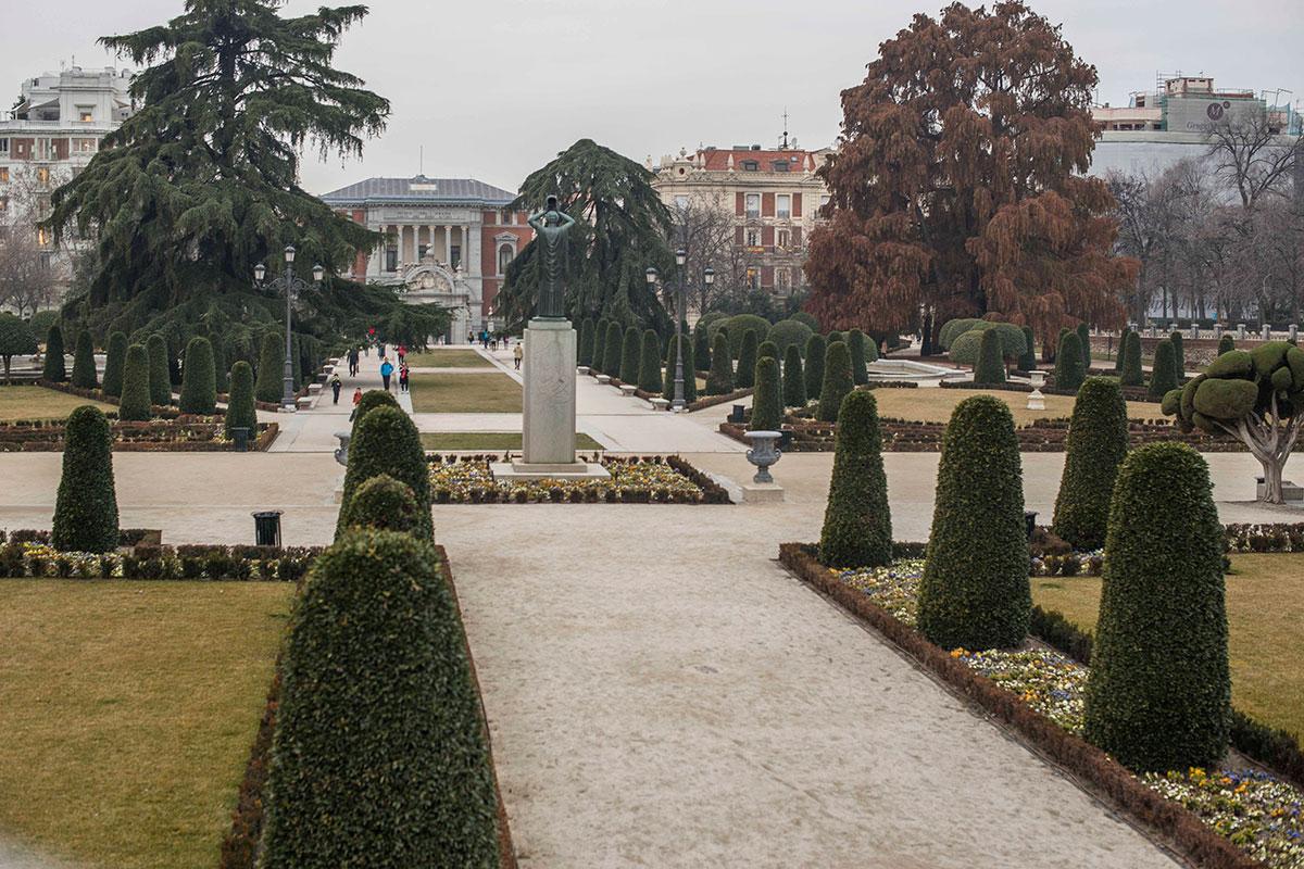 El Parterre, de inspiración versallesca, es uno de los orgullos de los jardineros, que reivindican su prestigio.