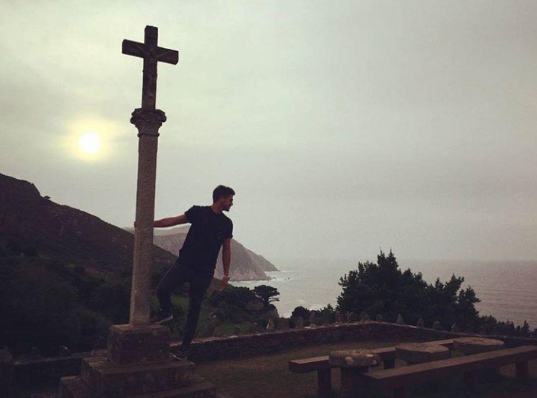 Maxi Iglesias en Galicia