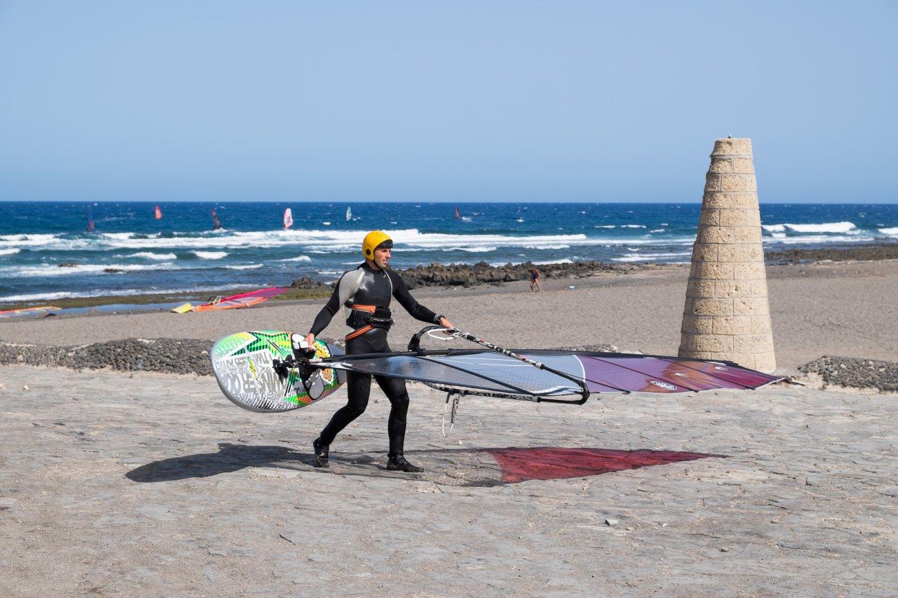 'El Cabezo' (El Médano): surfero
