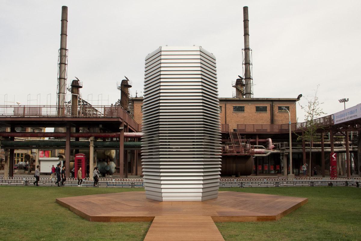 'Smog Free Project Beijing', o cómo crear aire libre de contaminación. Foto: Daan Roosegaarde.
