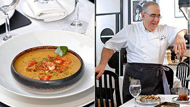 Restaurante 'Viridiana', un clásico de Abraham García