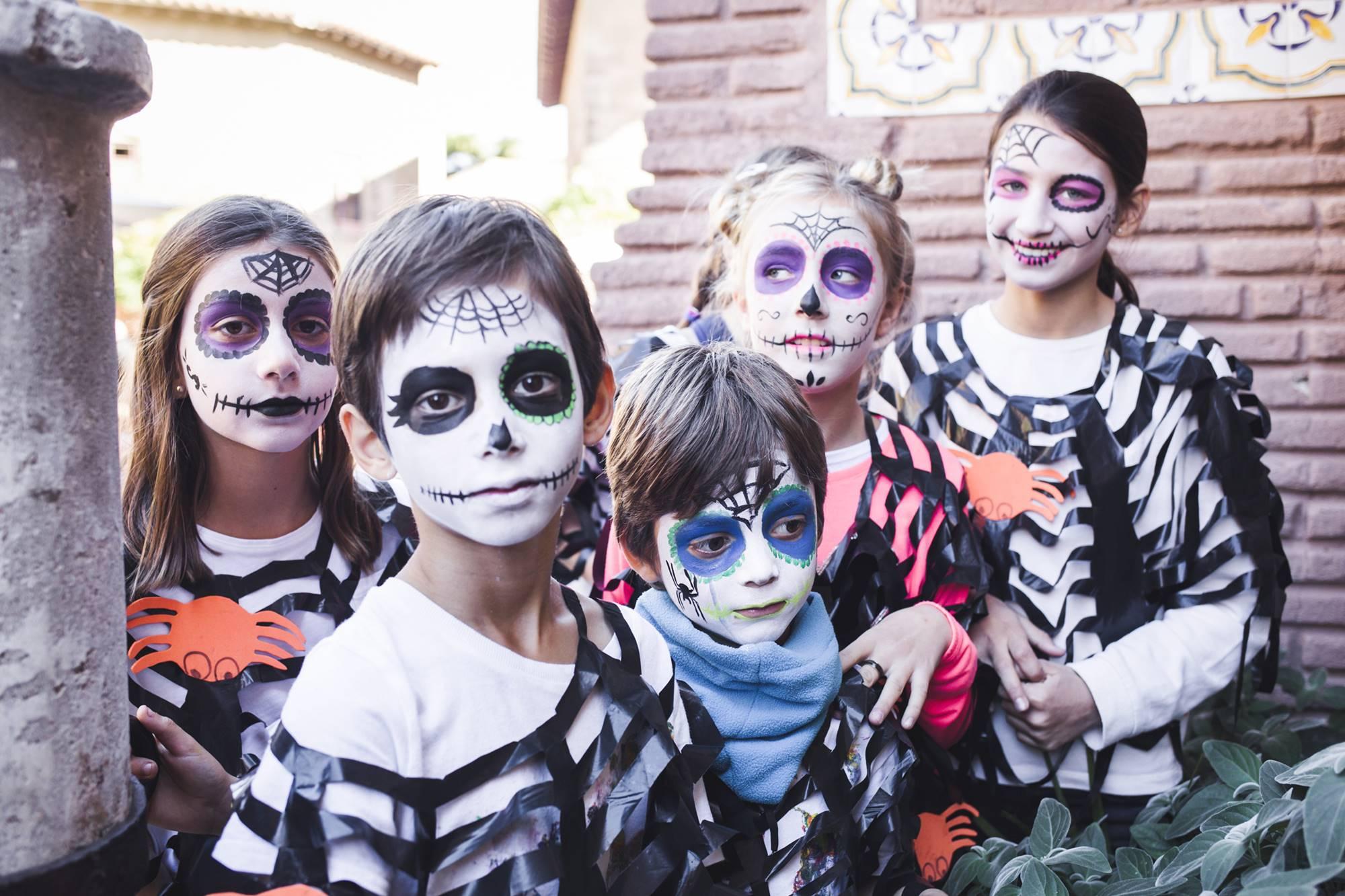 Halloween en Poble Espanyol está especialmente orientado a los más pequeños.
