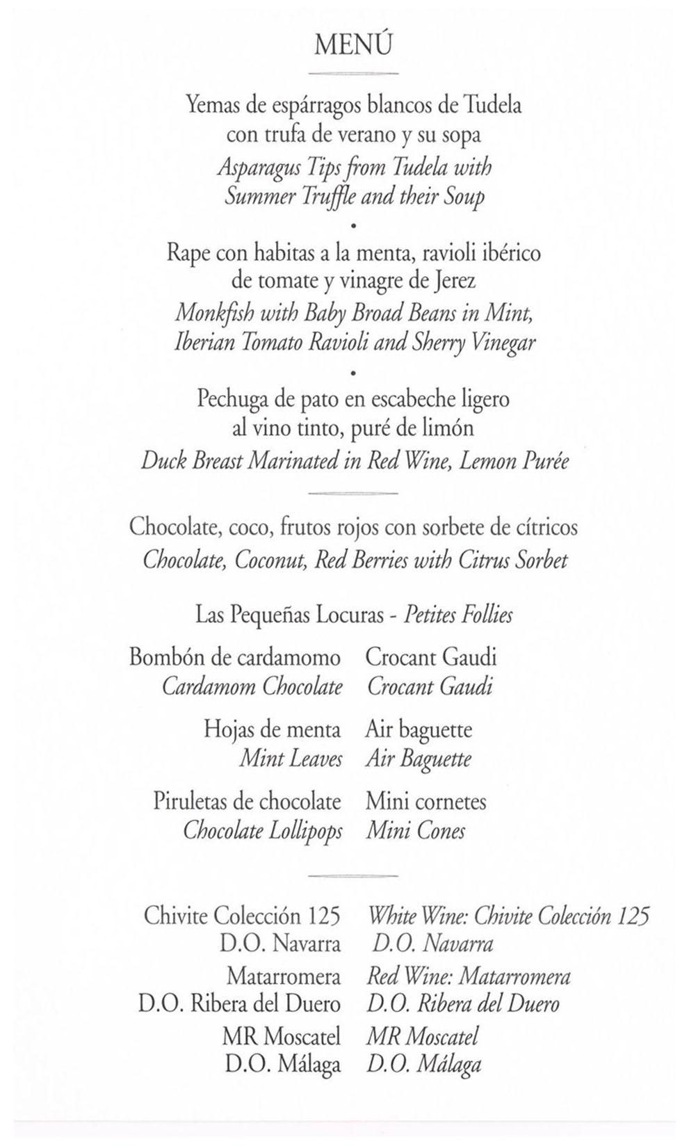 Menú con historia: la cena de la boda de Letizia y Felipe (2004 ...