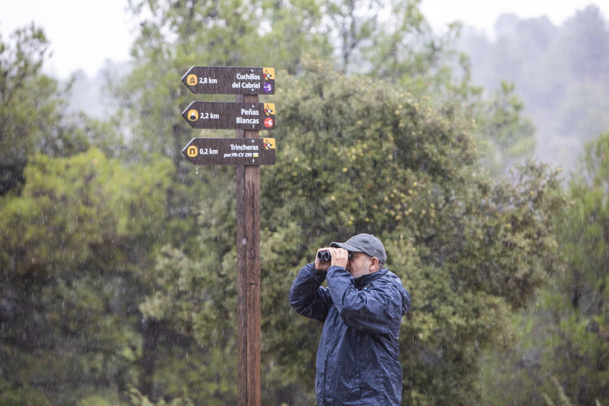 Virgilio Beltrán, biólogo, ornitólogo y educador ambiental en 'ActioBirding'.