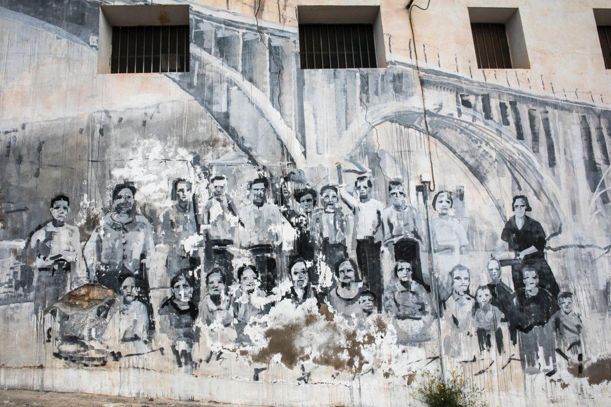 Un mural para unir generaciones de Pol Barban.
