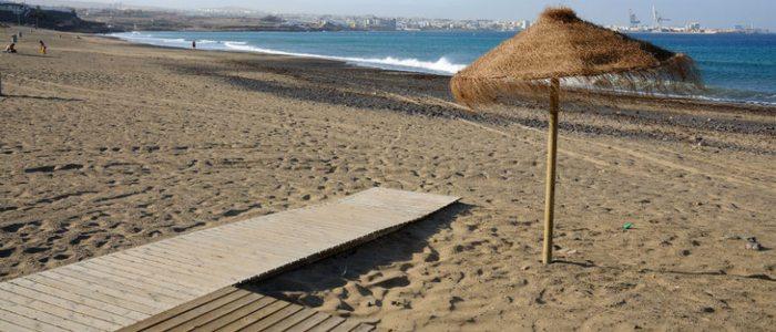 Playa Blanca en Fuerteventura.
