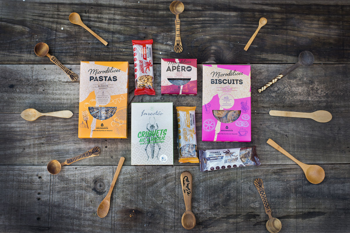 Desde pastas, a galletas y barras energéticas hechas con insectos. En el mercado ya encontramos de todo.