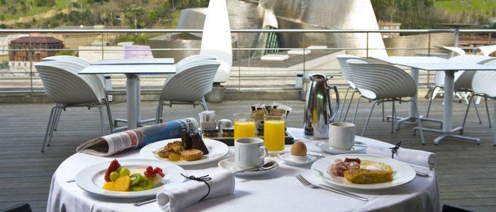 Desayuno Silken Domine, Bilbao.