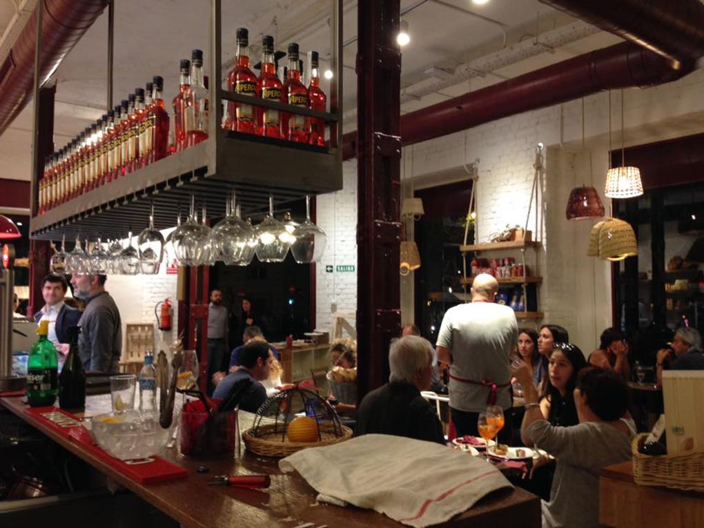El interior de Mercato Italiano. Foto cedida.