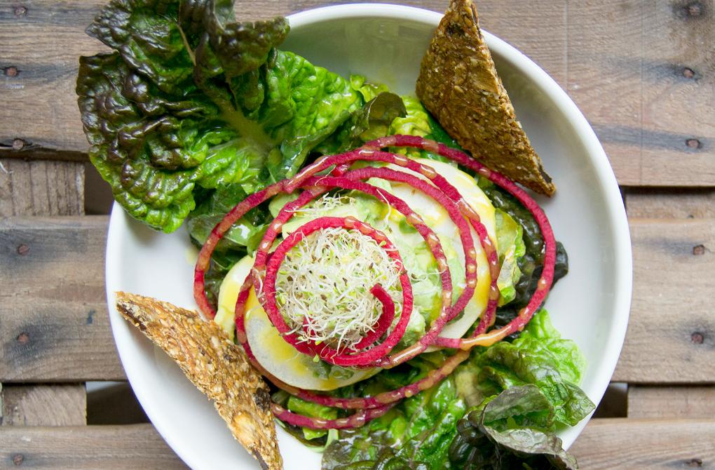 Alimentos ecológicos y de kilómetro 0 en Blueproject Café. Foto: Blue Project Café.
