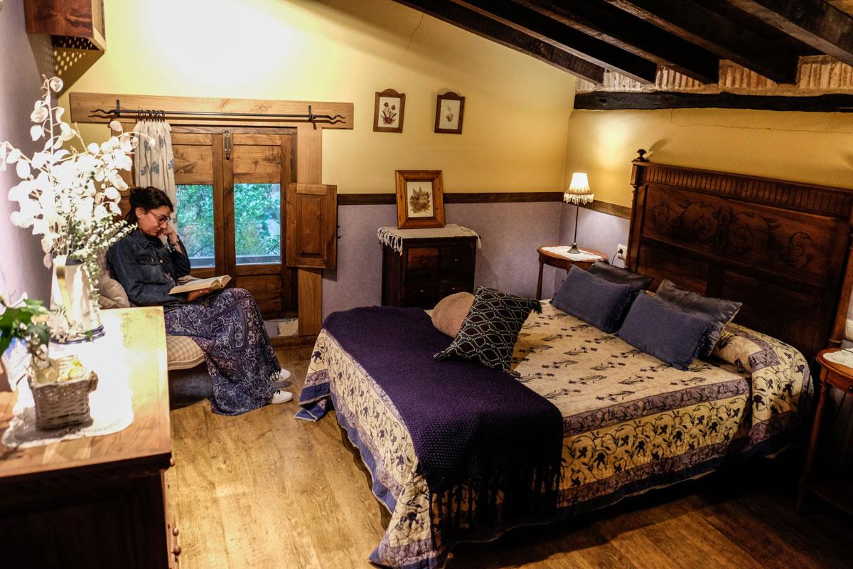 En la 'Casa de Abajo' hay dos habitaciones en el piso de arriba.