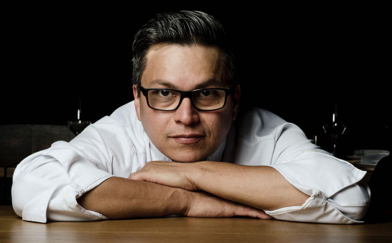 El chef Luis Arévalo, del restaurante 'Gaman'. Foto: Facebook.