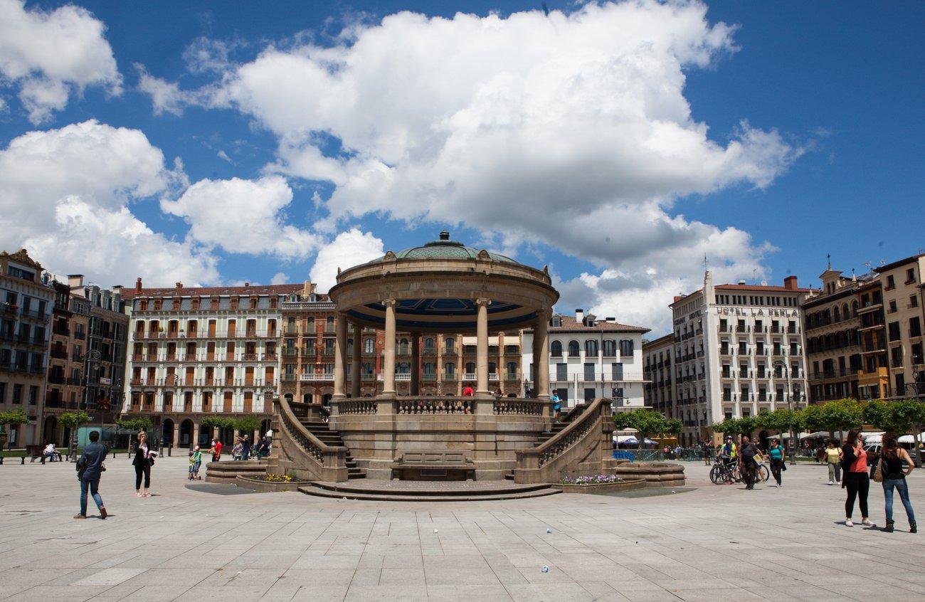 Pamplona - Plaza del Castillo