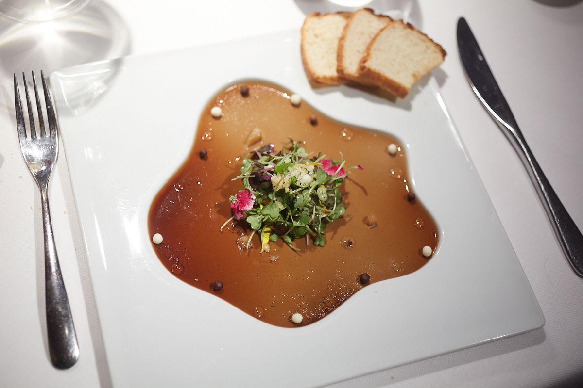 En este formato tan atractivo llega el mousse de caza y foie.