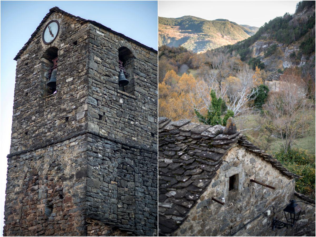 La Igleisa de Fragen y la ermita del cruce de caminos, un entorno diferente.