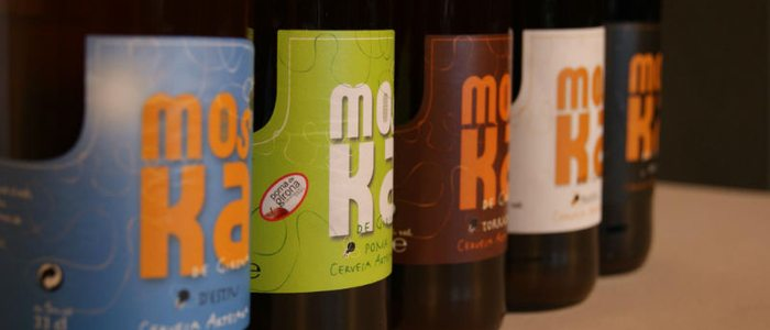 Cerveza Moska.