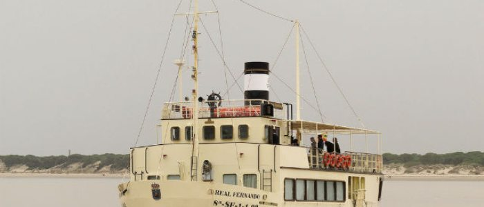 Ruta en barco por el Guadalquivir, Sanlúcar de Barrameda. Foto: Félix Sabio.