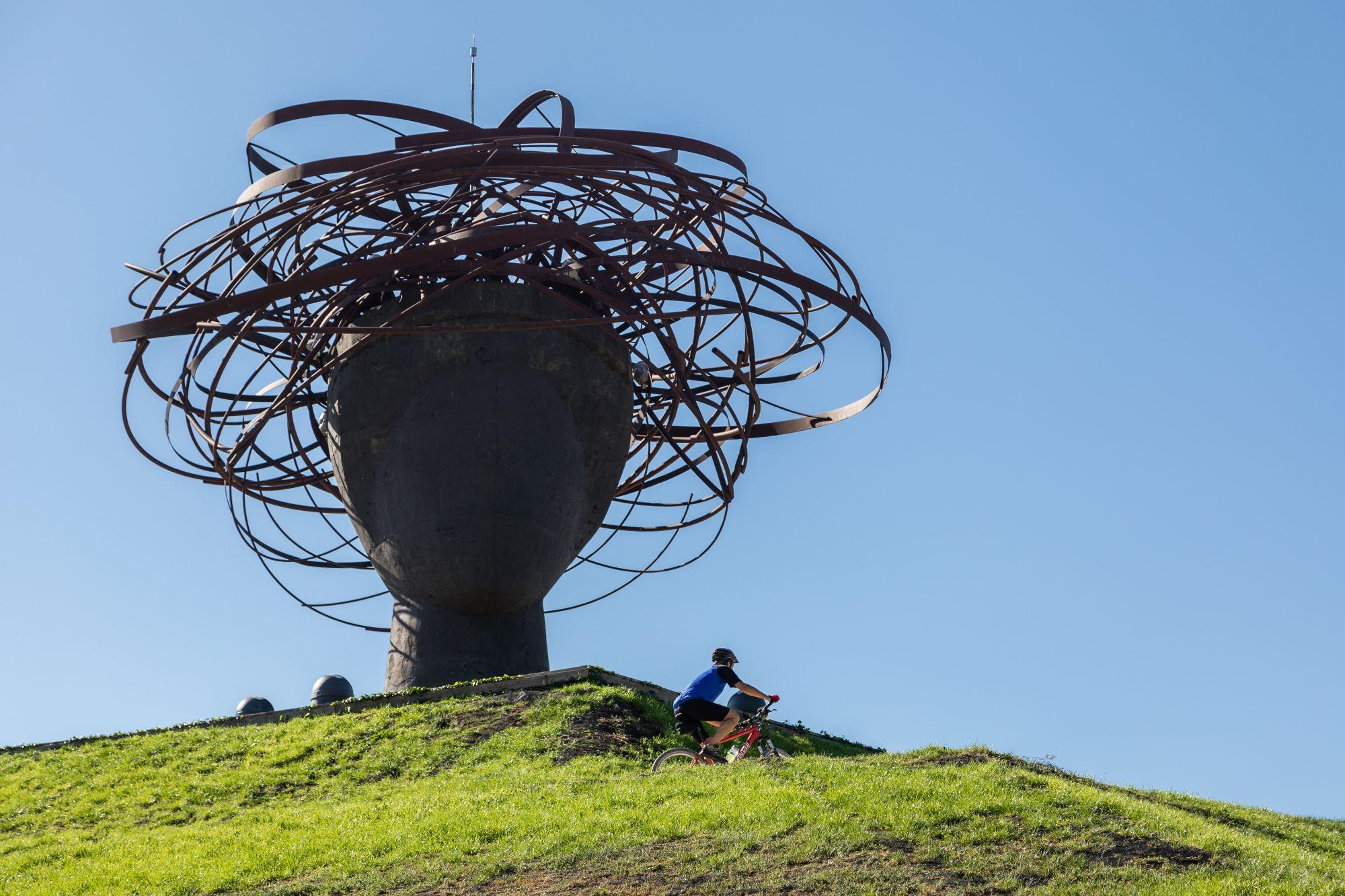 La cabeza de Ariadna del Parque Lineal del Manzanares