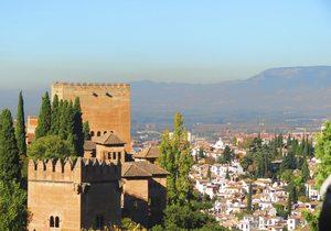 Atardecer en Granada.