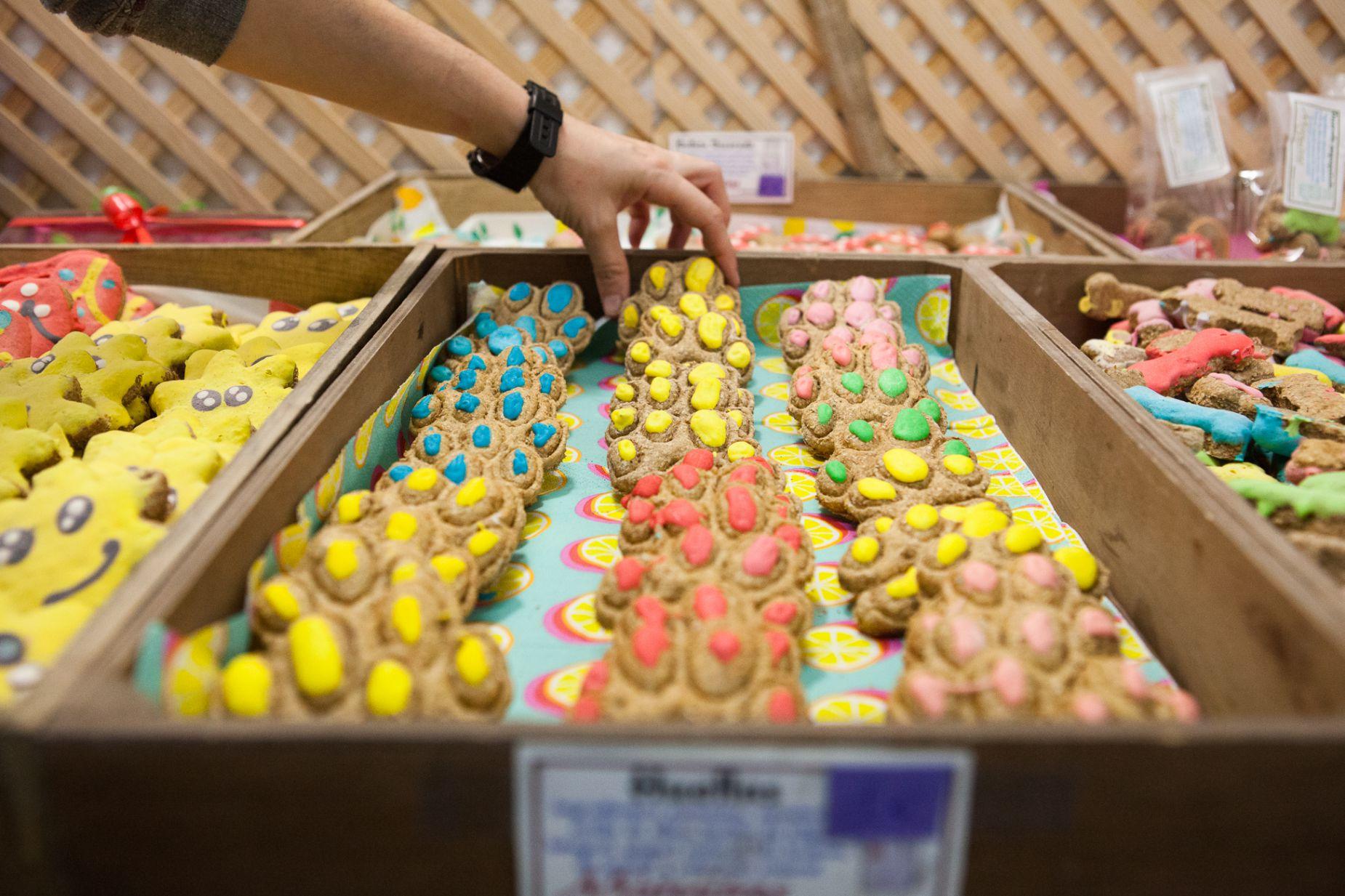 Tienda obrador 'Miguitas' (Madrid): galletas