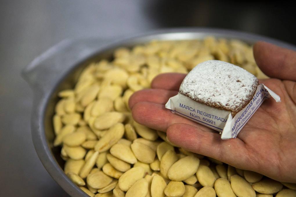 La almendra, ingrediente principal de las marquesitas.