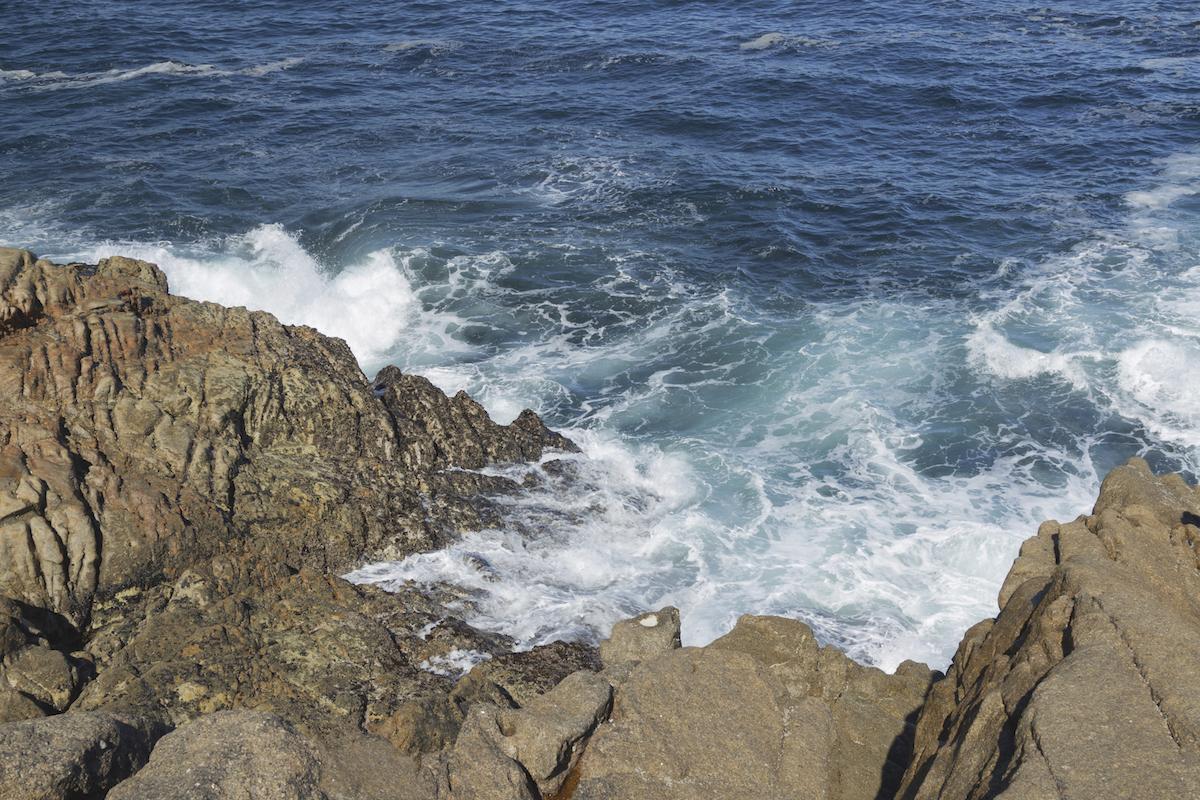 Vistas del mar en A Coruña.