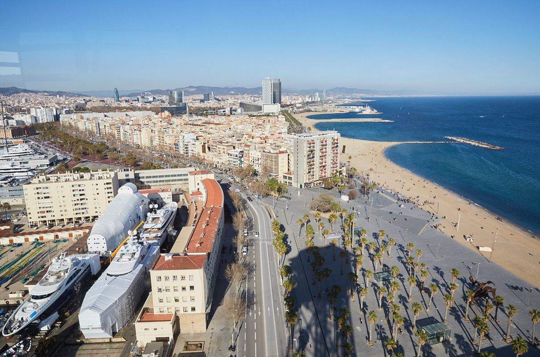 Barcelona y el Mediterráneo a tus pies.