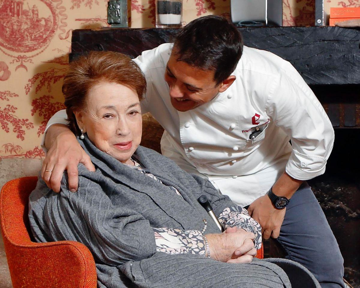 Marisa Sánchez y Francis Paniego.