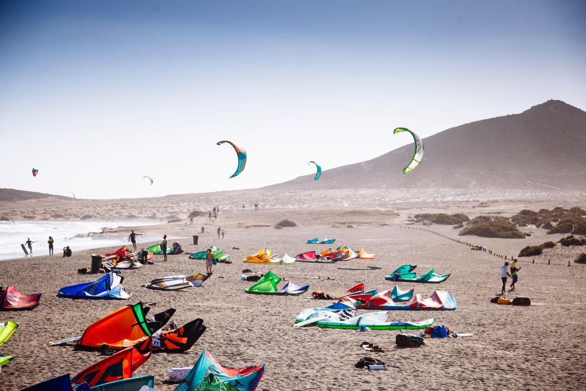 Kitesurf en El Médano, Tenerife