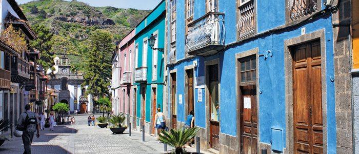 Calle Real de la Plaza, Teror.